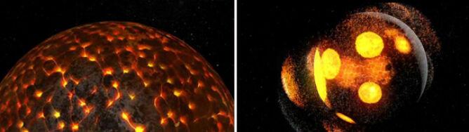 Wielka kula magmy i 4 mld lat schładzania. Zobacz ewolucję Księżyca w 2,5 minuty