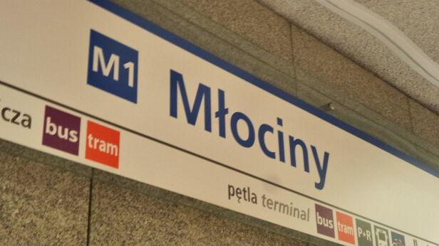 Metro Młociny Mateusz Szmelter, tvnwarszawa.pl