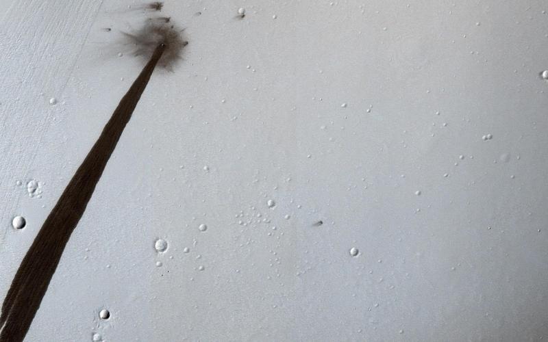 Smugi na Marsie (NASA)