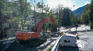 Ulewy i powodzie we Włoszech (PAP/EPA/TINO ROMANO)