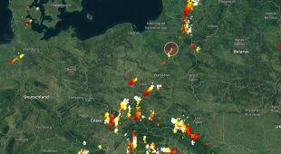 Rzecznik Państwowej Straży Pożarnej o niedzielnych burzach w Polsce