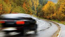 Na część dróg spadnie deszcz