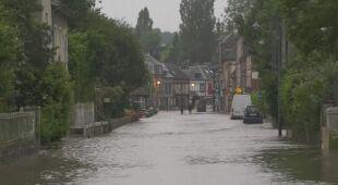 Ulewy i powodzie we Francji